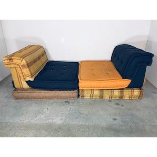 """1970s Vintage Hans Hopfer """"Le Mah Jong"""" Sectional Sofa for Roche Bobois - 6 Piece Preview"""