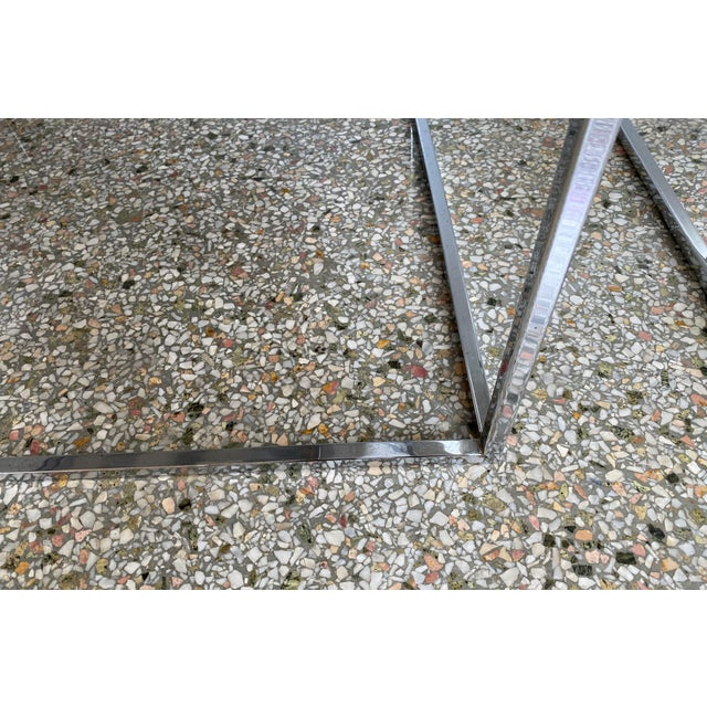 Milo Baughman Thin Line Chairs in Polished Chrome - a Pair For Sale In West Palm - Image 6 of 13