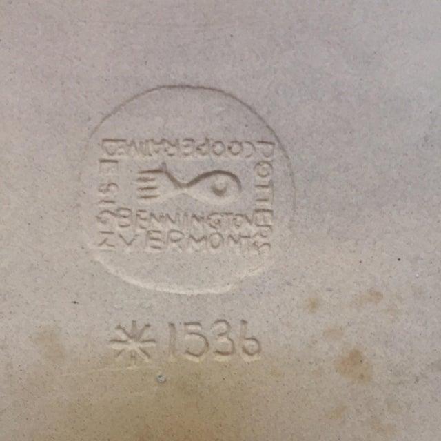 David Gil Bennington Pottery Mid-Century Wall Plaque or Trivet - Image 3 of 5