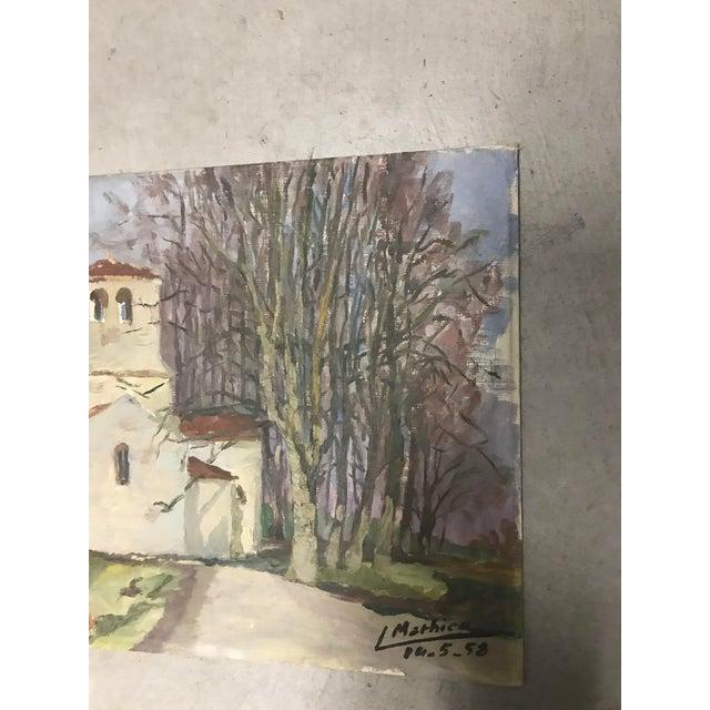 French Provincial Vintage Landscape - Image 4 of 5