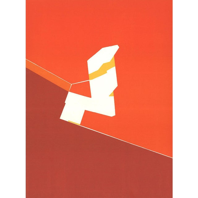 1970 Pablo Palazuelo DLM No. 184 Page 10 Lithograph - Image 1 of 3