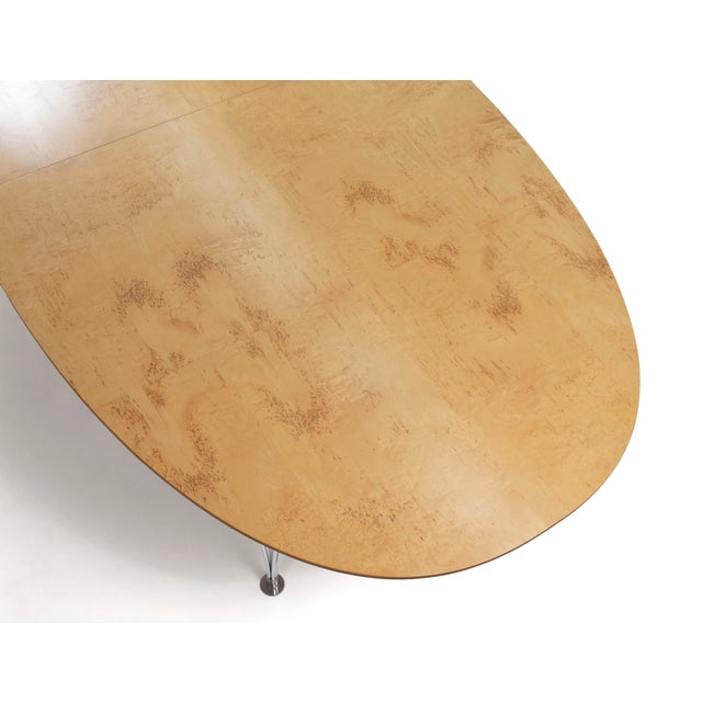 Danish Modern Bruno Mathsson Conference or Dining Table For Sale In Phoenix - Image 6 of 12