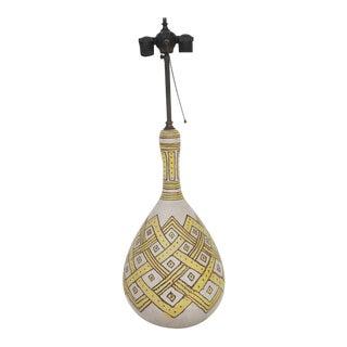 Guido Gambone Lamp For Sale
