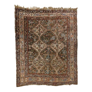 1900s Antique Persian Rug For Sale