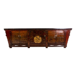 1920s Vintage Chinese Sideboard For Sale