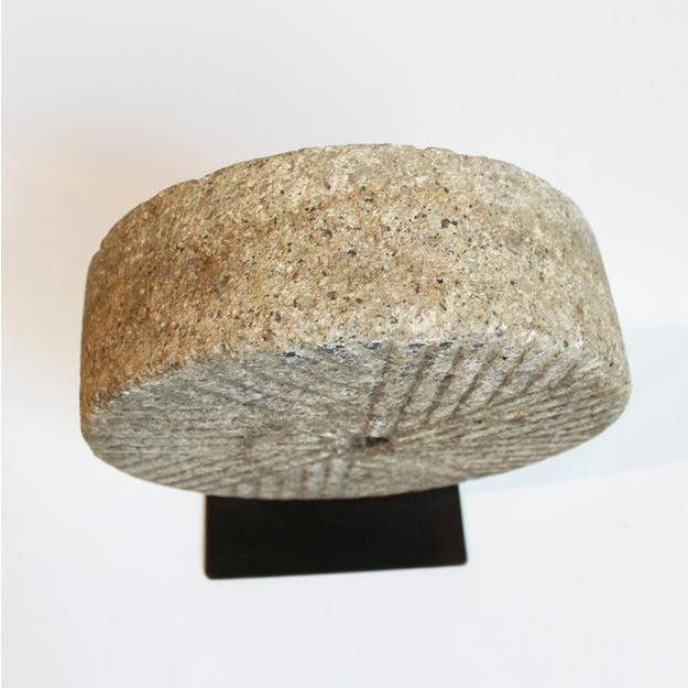 Granite Wheel on Stand - Image 2 of 2