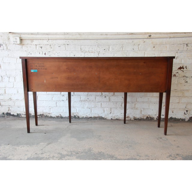 Drexel Heritage Heirlooms Collection Inlaid Mahogany Sideboard For Sale - Image 10 of 11