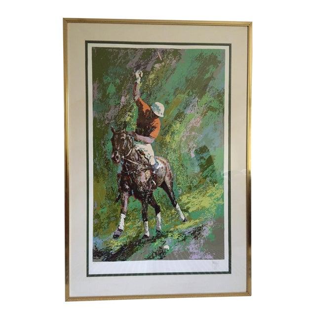 Mark King Polo Silkscreen Print For Sale