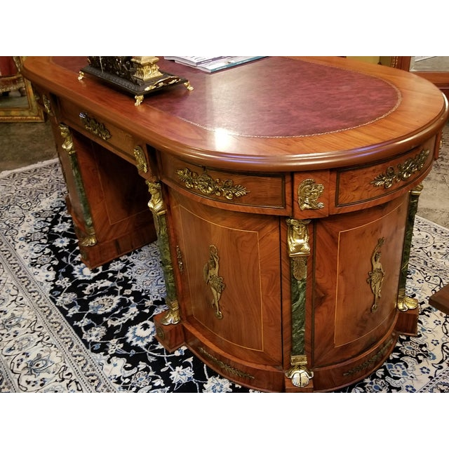 Egyptian Classical Revival Desk For Sale In Dallas - Image 6 of 12