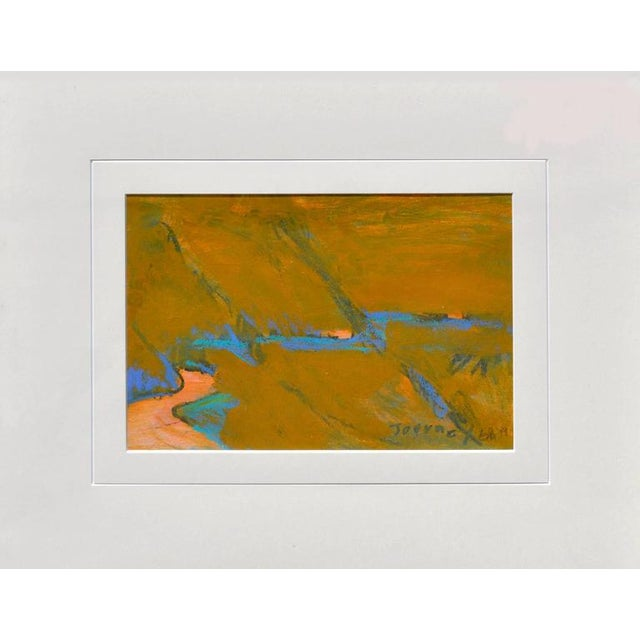 Abstract 'Journey' Abstract Framed Painting For Sale - Image 3 of 6