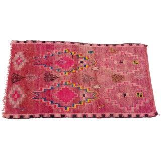 Summer Sunset' Vintage Boujaad Rug - 5′11″ × 10′7″ For Sale