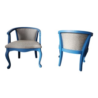 1990s Vintage Artistic Side Chairs- A Pair For Sale