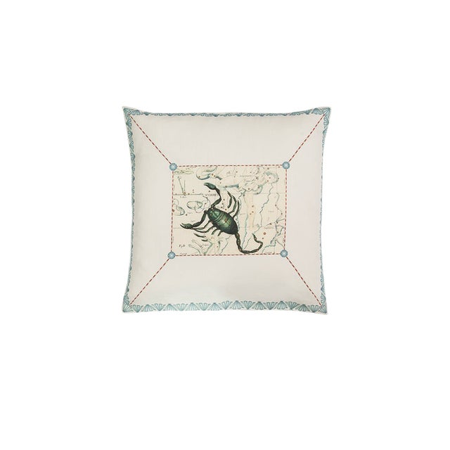 Scorpio Pillow For Sale