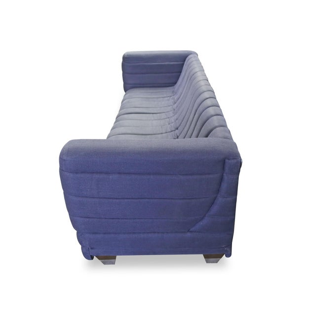 Ligne Roset Inspired Ribbed Contemporary Modern Brazilian Sofa - Image 4 of 7