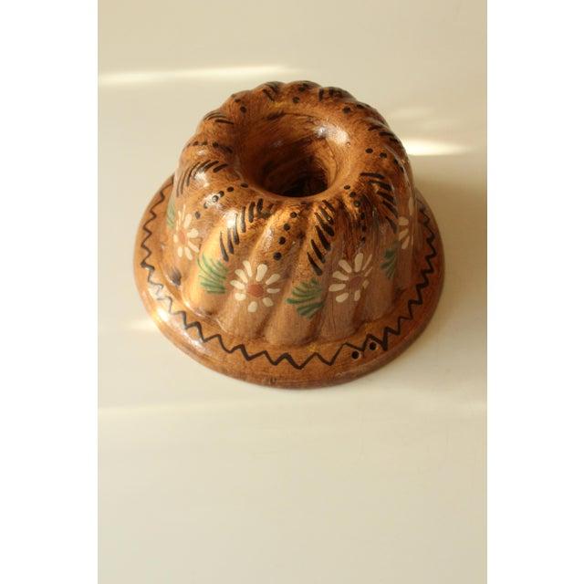 Mid-Century Modern Vintage Original German Ceramic Baking Dish, Kitchen Wall Decoration For Sale - Image 3 of 5