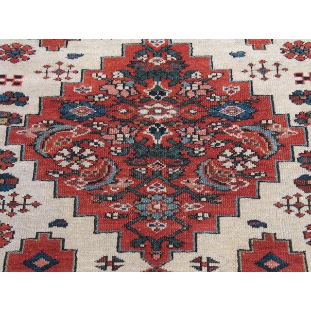 Mid 19th Century Antique Karadja Rug For Sale - Image 5 of 9