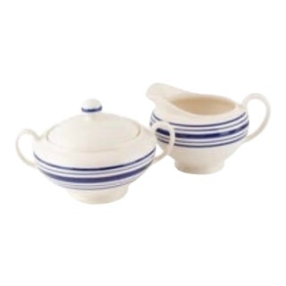 Ralph Lauren Farmstead Creamer & Sugar Set - A Pair For Sale