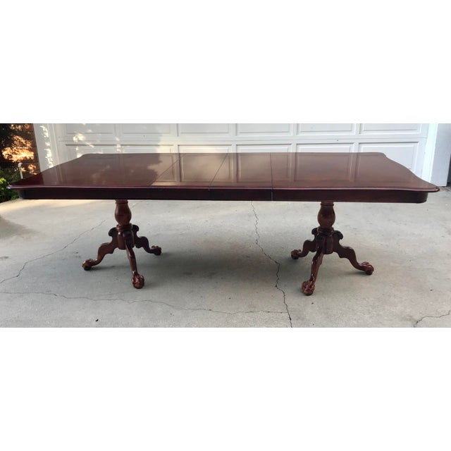 Claw Foot & Ball Dining Table - Image 2 of 7