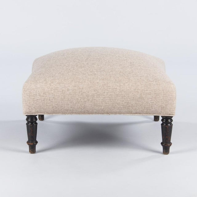 Late 1800s French Napoleon III Ottoman For Sale - Image 4 of 10