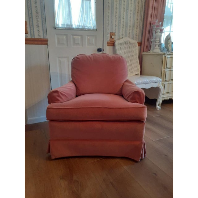 Drexel Heritage Frederick Edward Distictive Seating Club Chairs - A Pair For Sale - Image 10 of 12