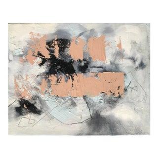 Abstract Painting, Les Couleurs De l'Hiver For Sale