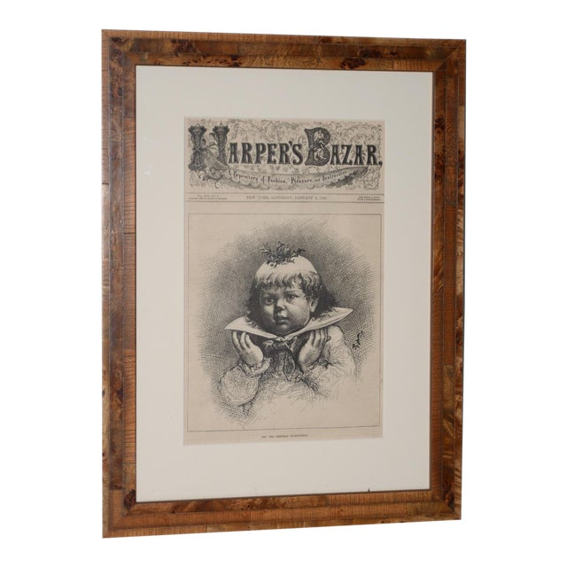 "1880s ""See! The Christmas Plum-Pudding"" Illustration by Thomas Nast for Harper's Weekly For Sale"