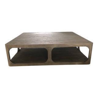 Restoration Hardware Martens Square Coffee Table