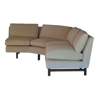 Edward Wormley Reupholstered Dunbar Sectional For Sale