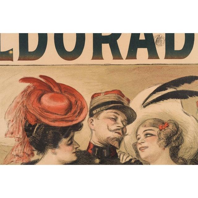 Eldorado Original 1905 Vintage French Poster- by Georges Redon -Framed - Image 4 of 10