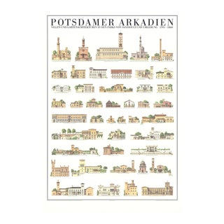 Potsdamer Arkadien, Offset Lithograph, Edition: 500, 1992 For Sale
