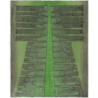 Patricia A. Pearce Kimono Collagraph Plate 14 1980s For Sale