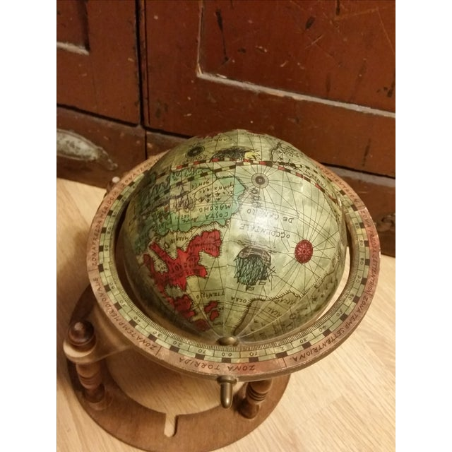 Vintage Italian Mini Old World Horoscope Globe - Image 8 of 8