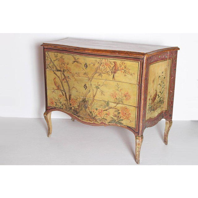 18th Century Italian Painted Commode For Sale In Dallas - Image 6 of 13