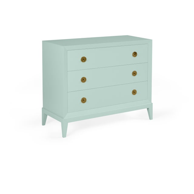 Transitional Casa Cosima Hayes Chest, Palladian Blue For Sale - Image 3 of 3