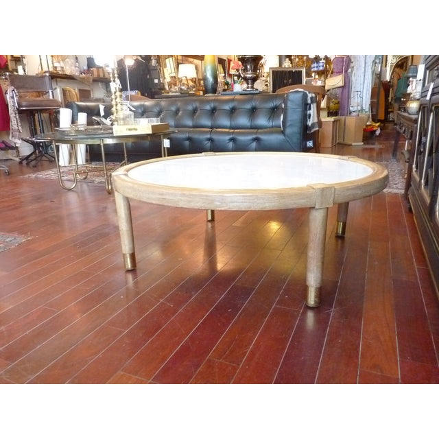 Mid Century Modern Marble Coffee Table - Image 8 of 9