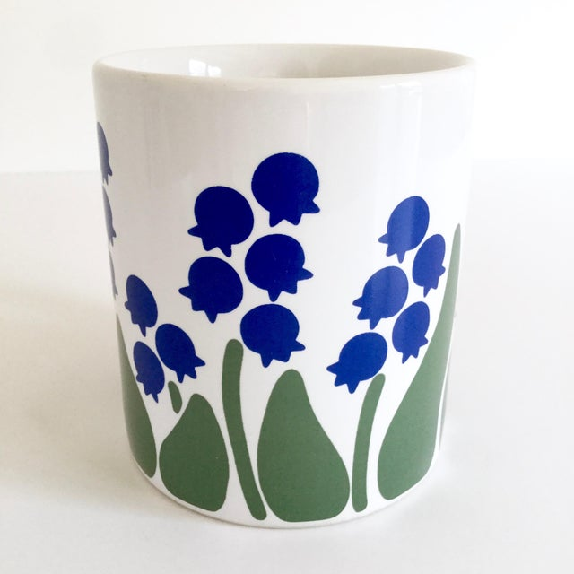 Cottage 1983 Nina Lily of the Valley Coffee Mug For Sale - Image 3 of 9