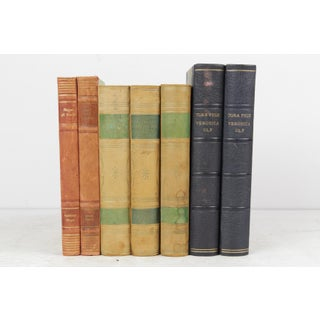 Leather-Bound Books - Set of 7 Preview