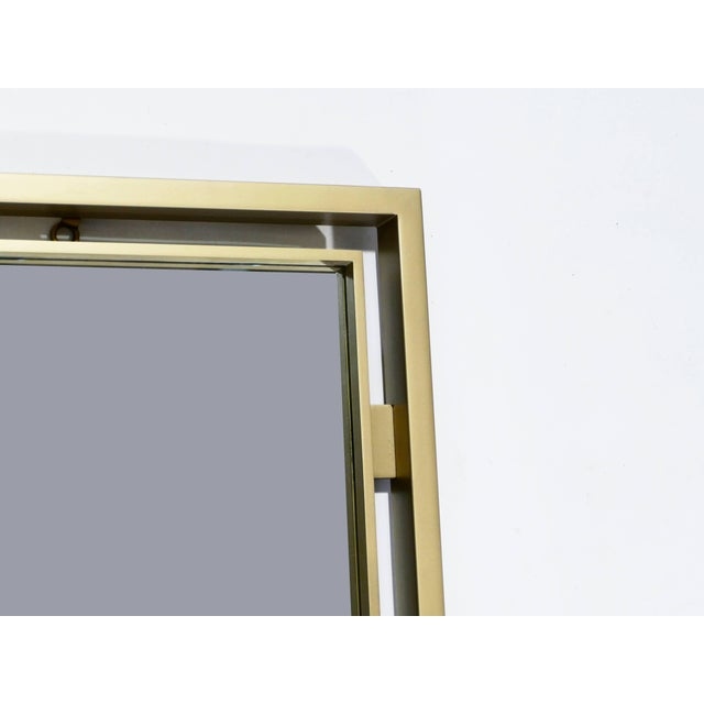 1970s Brass Mirror by Guy Lefevre for Maison Jansen, 1970s For Sale - Image 5 of 7