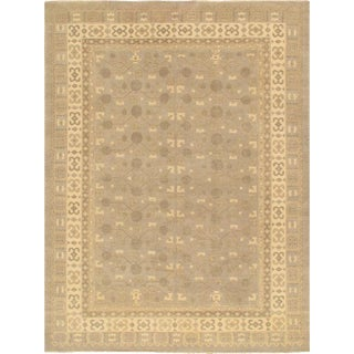 Khotan Wool Area Rug - 2' x 3' For Sale