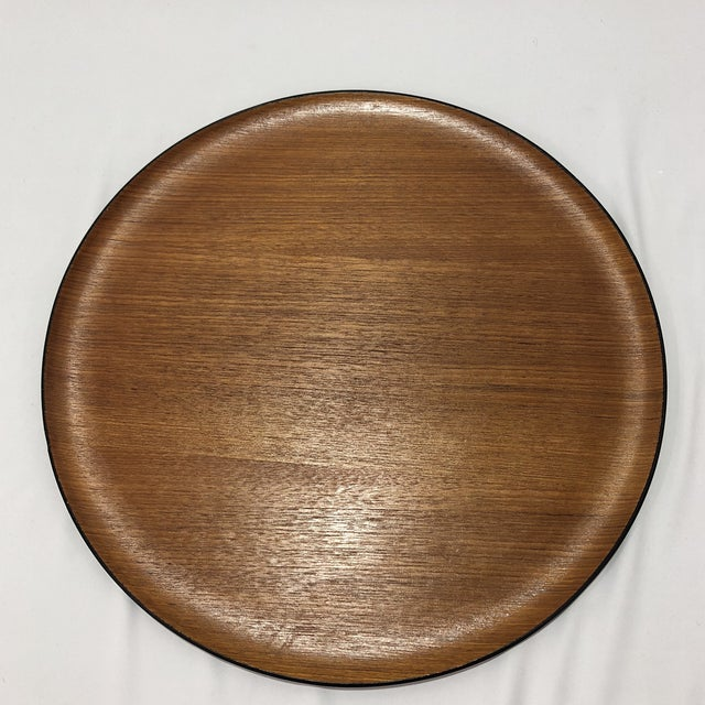 Walnut Mid-Century Herman Miller Walnut Tray For Sale - Image 7 of 9