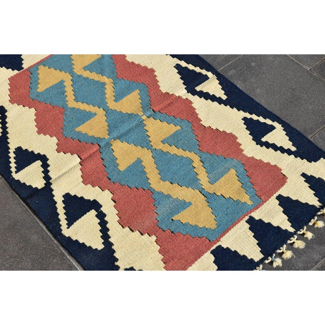 Turkish Anatolian Wool Rug - 2′3″ × 3′7″ For Sale - Image 4 of 9