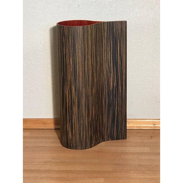 1970's Vintage Wooden Floor Vase For Sale In Sacramento - Image 6 of 6