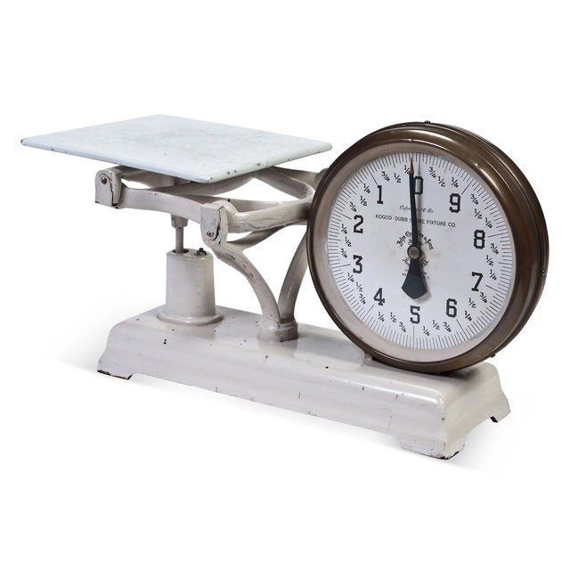 Vintage 2-Sided Counter Scale - Image 5 of 6