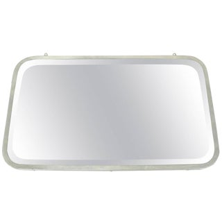 Brasscrafters Art Deco Beveled Incased Mirror For Sale