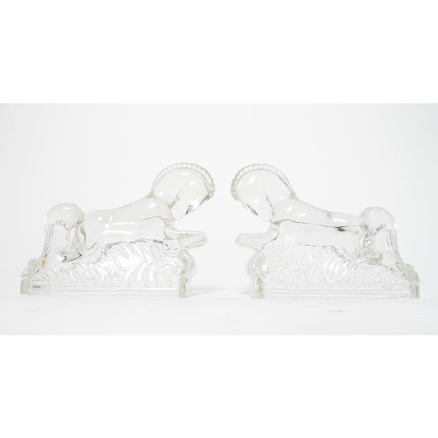 LE Smith Trojan Horses Art Deco Bookends - A Pair - Image 2 of 5