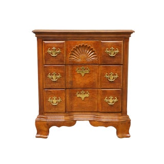"Universal Furniture Cherry Traditional Style Block Front 26"" Commode For Sale"