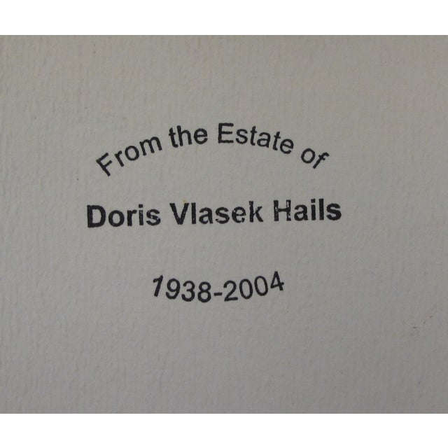 Study in Green, 1979, by Doris Vlasek-Hails - Image 3 of 3