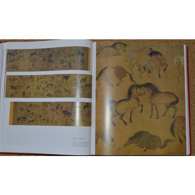 """""""The Art of East Asia"""" Hardcover Dust Jacket Book Koenemann Coffee Table Book Red Black For Sale In Los Angeles - Image 6 of 11"""