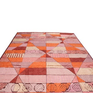 "Rug & Kilim's Scandinavian-Inspired Orange Rug-8'1'x12'2"" Preview"