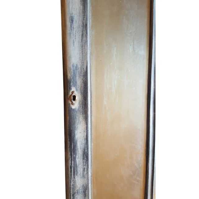 Antique Chateau Floor Mirror - Image 5 of 7